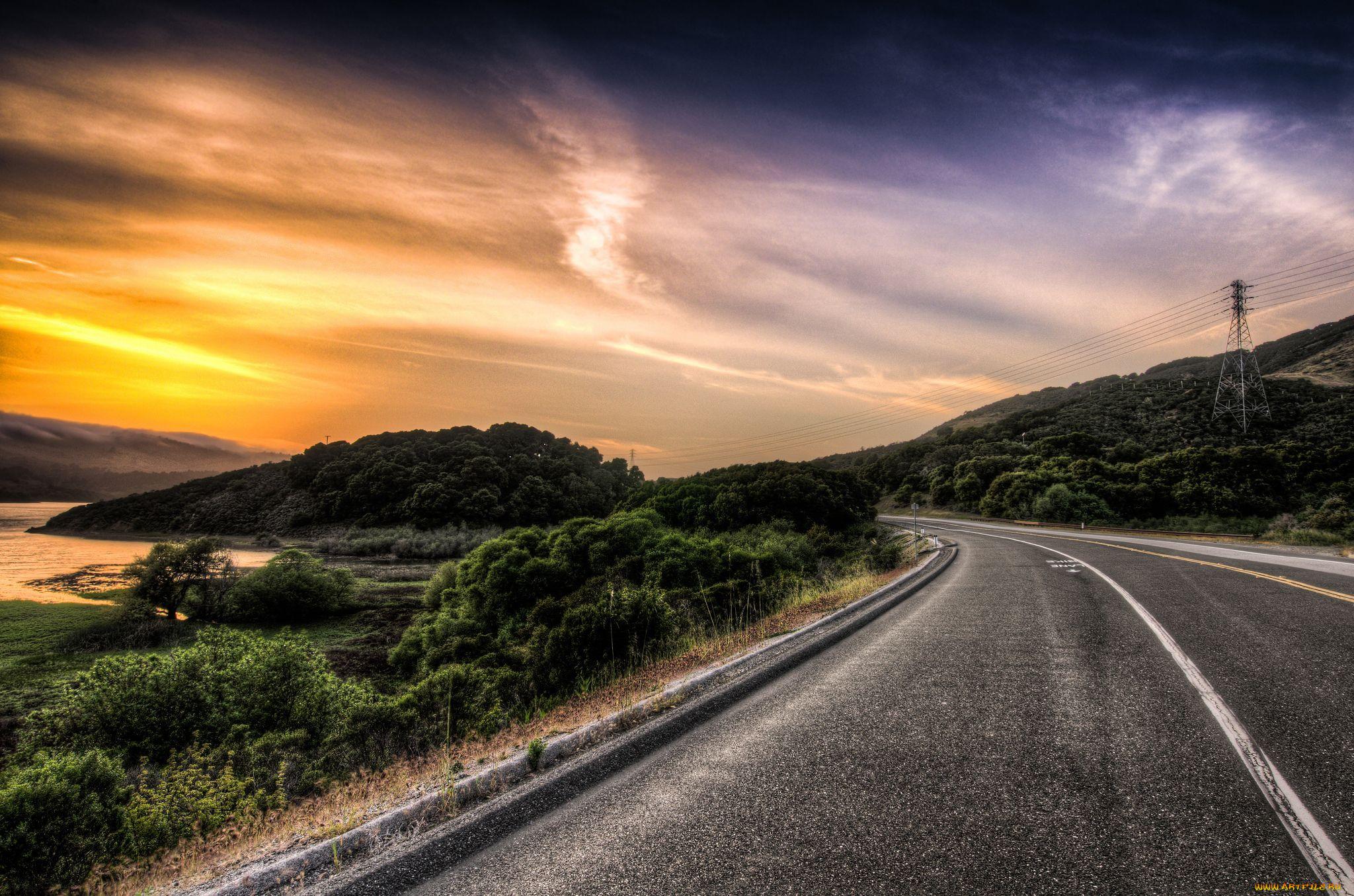 подобранные картинки и фото красивых дорог делать фотографии вашего